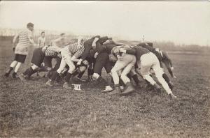 classic rugby scrum