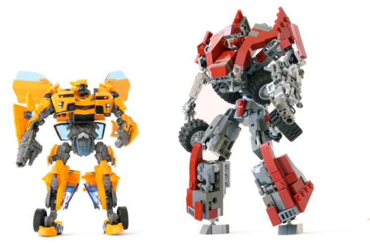 C-0T Autobot & Bumblebee by Louis K.